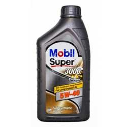 Масло моторное синт. Mobil SUPER 3000 X1 5w40 Diesel 1 л.