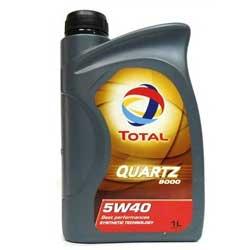 Масло моторное синт. Total Quartz 9000 5w40 1 л.